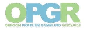 Oregon Problem Gambling Resource logo