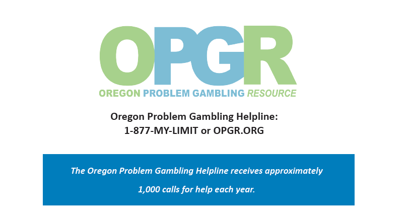 Oregon problem gambling treatment the first casino camera